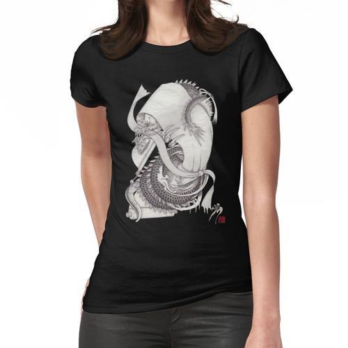 Lange Schlange lange Schlange lange Schlange Frauen T-Shirt