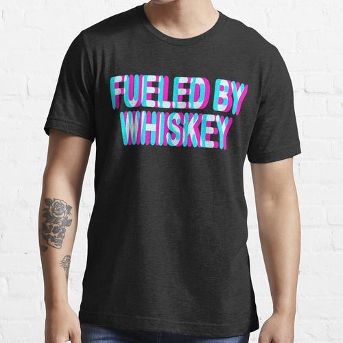 WHISKY T-SHIRT - BOURBON HEMD - WHISKY CONNOISSEUR HEMD Essential T-Shirt