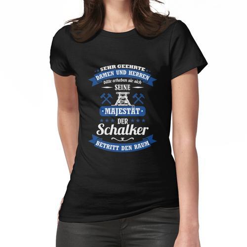 Schalke Spruch für Schalker: Seine Majestät Trikot Frauen T-Shirt