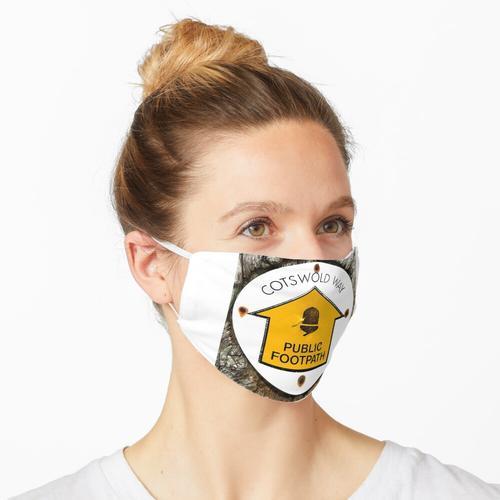 Der Cotswolds-Weg Maske