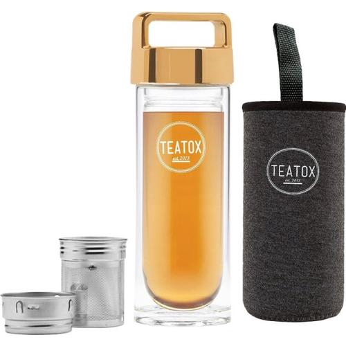 Set - Teatox Thermo Flaschen Pack Gold