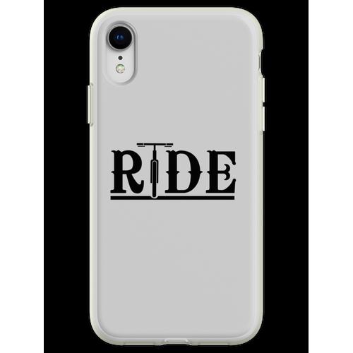 Fahräder fahren Flexible Hülle für iPhone XR