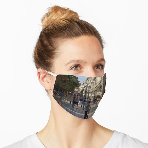 Gehweg am Liston Maske