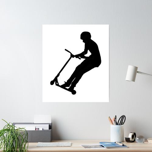 Scooter move-stunt scooter Poster