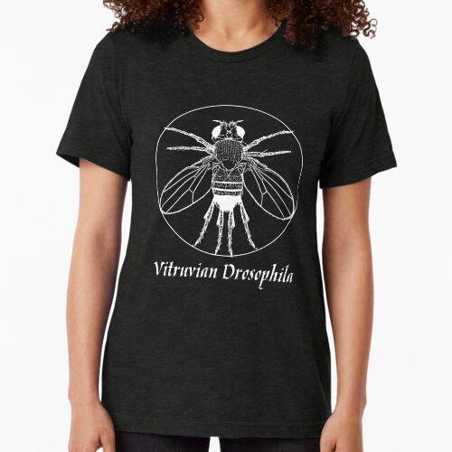 Vitruvian Drosophila Tri-blend T-Shirt