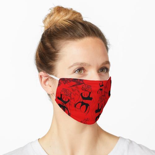 BDSM in rot Maske
