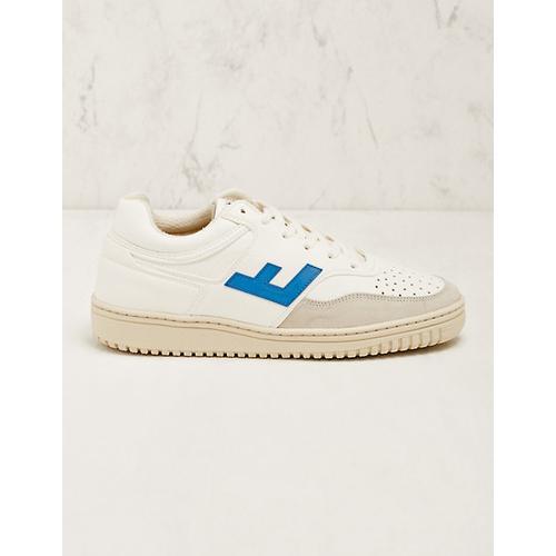 Flamingo's Life Damen Sneaker Xaviera weiß-blau Turnschuhe