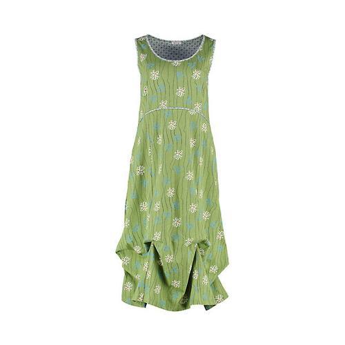Deerberg Damen Jersey-Kleid Marischka salatgrün