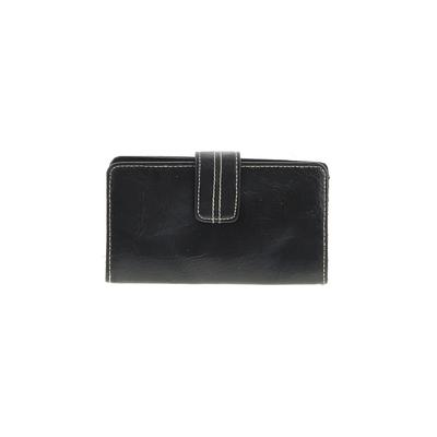 Unbranded - Wallet: Black Solid Bags