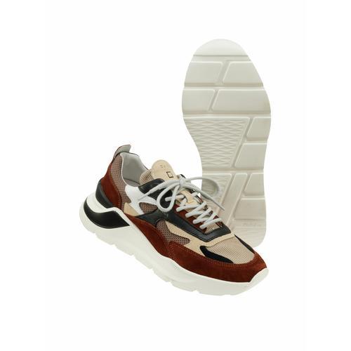 D.A.T.E. Herren Sneaker Fuga braun 40, 41, 42, 43, 44, 45, 46