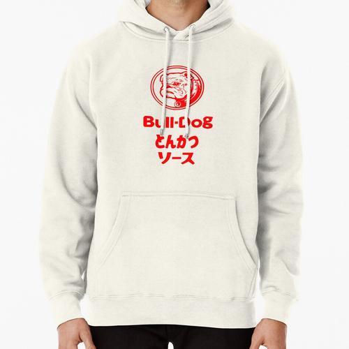 Bull-Dog Tonkatsu Sauce Fan T-Shirt Pullover Hoodie