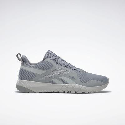Reebok Men's Flexagon Force 3 Training Shoes in Pure Grey 4/Pure Grey 2/Orange Flare Size 7 - Cross Training,Training Shoes