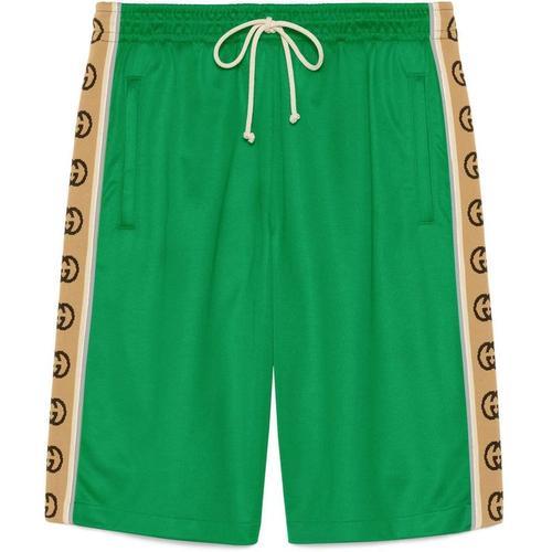 Gucci Shorts aus technischem GG Jersey