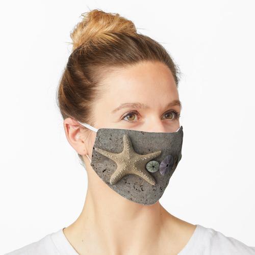Seestern und Seeigelschalen Maske