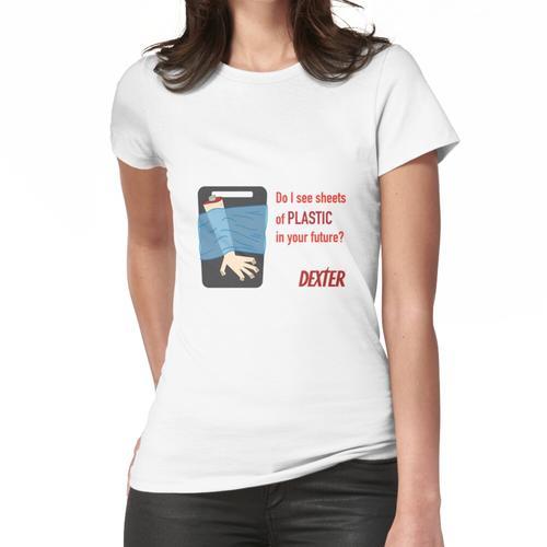 Dexter Kunststoffplatten Frauen T-Shirt