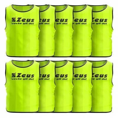 Zeus 10er-Pack Trainingsleibchen...