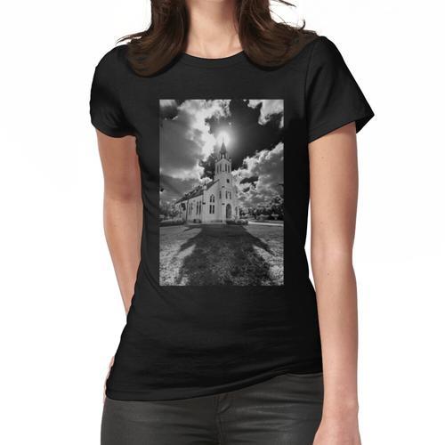Gemalte Kirchen von Schulenburg, Texas Frauen T-Shirt