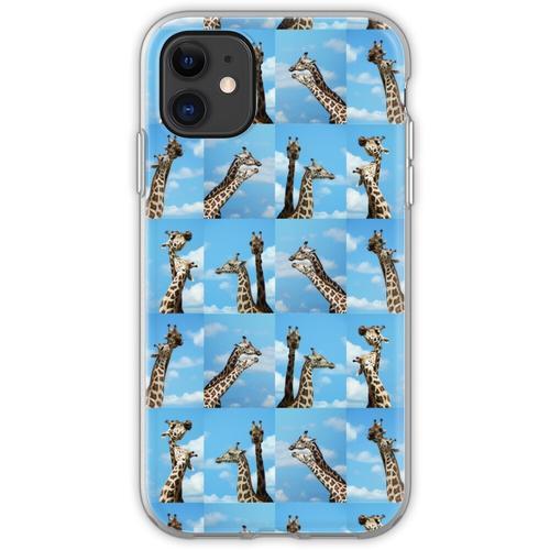 Giraffen-Giraffe Giraffen-Giraffe Flexible Hülle für iPhone 11