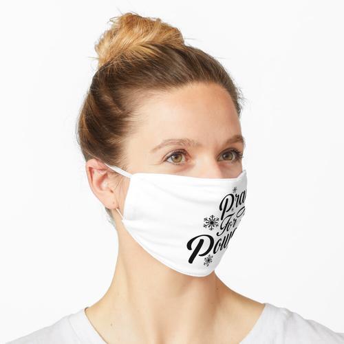 Bete für Pulver Maske
