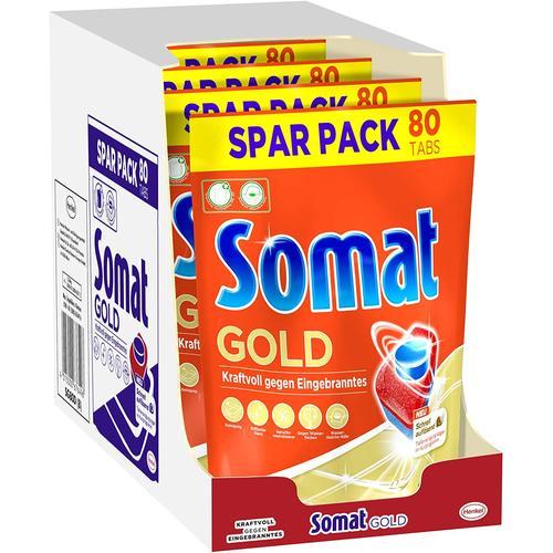 Somat 12 Gold Multiaktiv Spülmaschinentabs 4x80 Tabs Geschirrspültabs Reiniger
