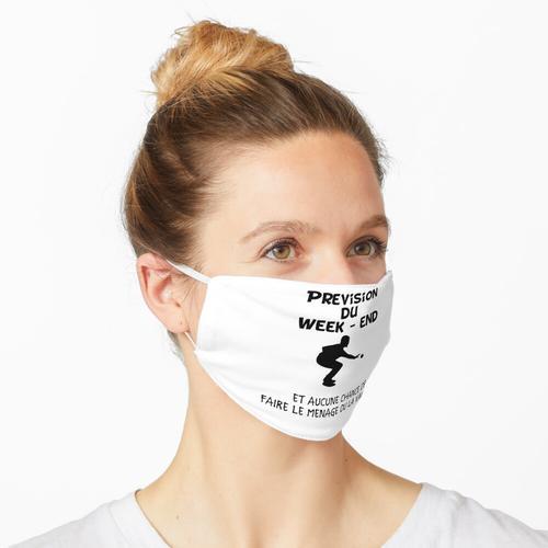 Vorhersage eines Pétanque-Wochenendes und keine Chance, den Pétanque-Geschenk-Pétanque-Ball Maske