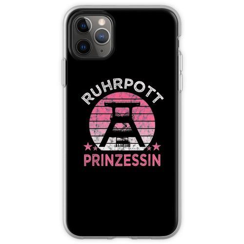 Ruhrpott Ruhrpottprinzessin Ruhrpottmädel T Shirt Ruhrpott TSh Flexible Hülle für iPhone 11 Pro Max