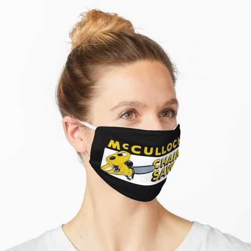 McCulloch Kettensägen Maske