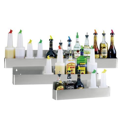Flaschenregal-Speed Rack für 10 Flaschen - L 107 X H 16 X T 10 cm