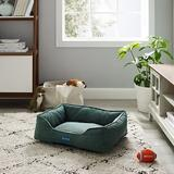 Sam's Pets Julius Dog Bed, Green, Small