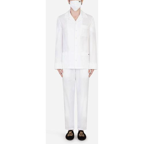 Dolce & Gabbana Pajama Set With Matching Face Mask