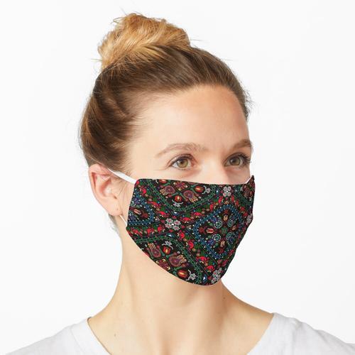 Ungarisches Muster Maske