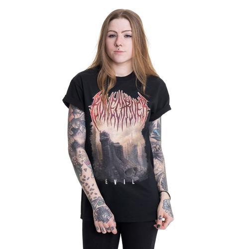 Bonecarver - Evil Cover - - T-Shirts
