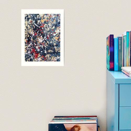 Jackson Pollock Kunstdruck