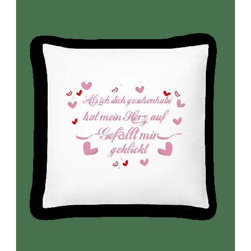 Herz Gefällt Mir Geklickt - Kissen