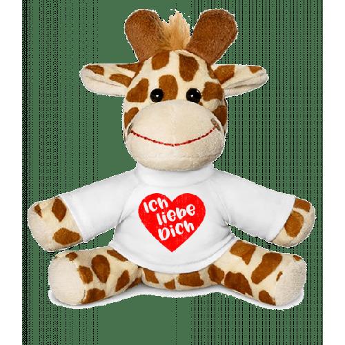 Ich Liebe Dich - Giraffe