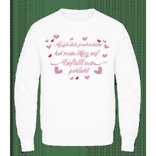 Herz Gefällt Mir Geklickt - Männer Pullover AWDis