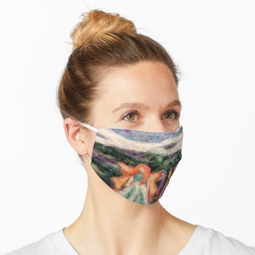 Gefilzte Feen Im Nebel Maske