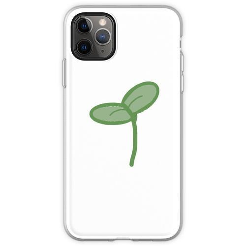Pflanzenspross Flexible Hülle für iPhone 11 Pro Max