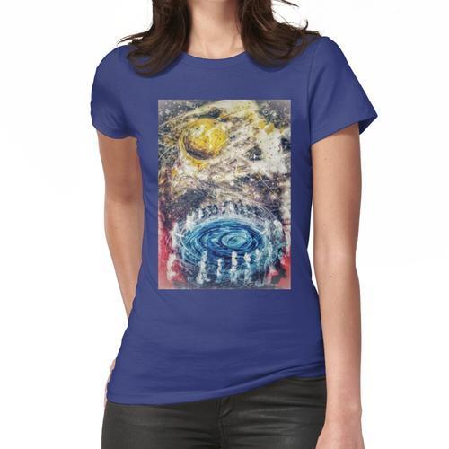 Der kosmische Wunschbrunnen Frauen T-Shirt