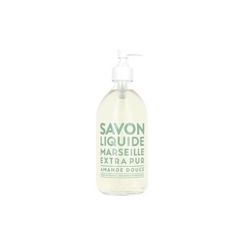 La Compagnie de Provence Marseille Seifen Flüssigseifen Sweet Almond Liquid Marseille Soap 495 ml