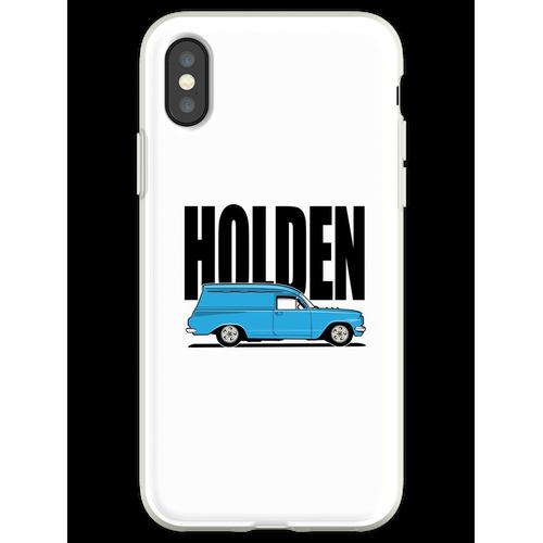 EH Kastenwagen - Blau Flexible Hülle für iPhone XS