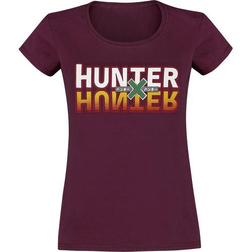 Hunter x Hunter Hunter x Hunter Damen-T-Shirt - bordeaux - Offizieller & Lizenzierter Fanartikel
