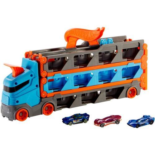 Hot Wheels 2-in-1 Rennbahn Transporter