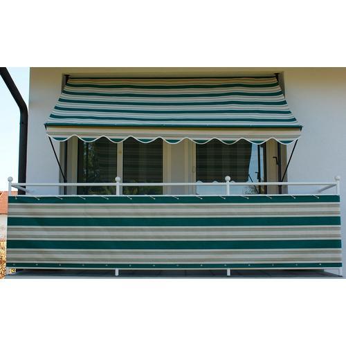 Angerer Freizeitmöbel Balkonsichtschutz Nr. 8700, Meterware, grün/beige, H: 75 cm grün Markisen Garten Balkon
