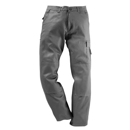 Kübler Arbeitshose Quality-Dress, mit Kniepolstertasche grau Herren Arbeitshosen Arbeits- Berufsbekleidung