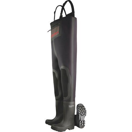 Dunlop Arbeitslatzhose Purofort schwarz Latzhosen Arbeitshosen Arbeits- Berufsbekleidung
