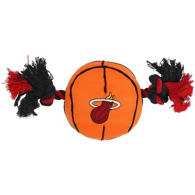 """""""Miami Heat Basketball Rope Toy"""""""