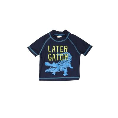 Carter's Rash Guard: Blue Sporting & Activewear – Size 12 Month