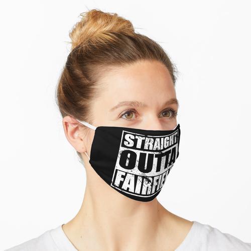Straight Outta Fairfield Design für Fairfield Pride Maske