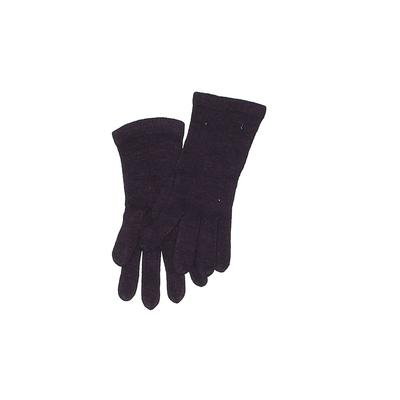 New York & Company Gloves: Purpl...